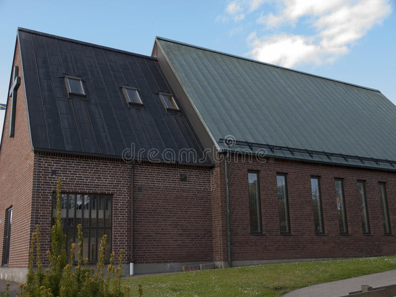 韦克舍,瑞典 库存照片