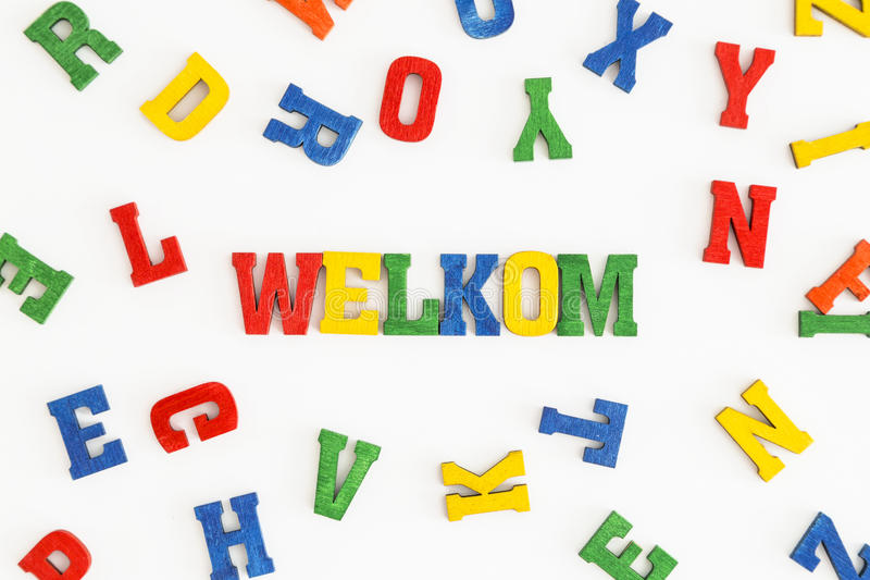 Download 韦尔科姆 库存图片. 图片 包括有 文化, 荷兰, 欢迎, 黄色, 恐怖, 对象, 荷兰语, 信函, 橙色 - 59102467