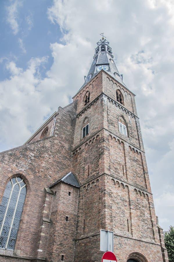 韦斯普的格罗特或Laurens教会荷兰 库存图片