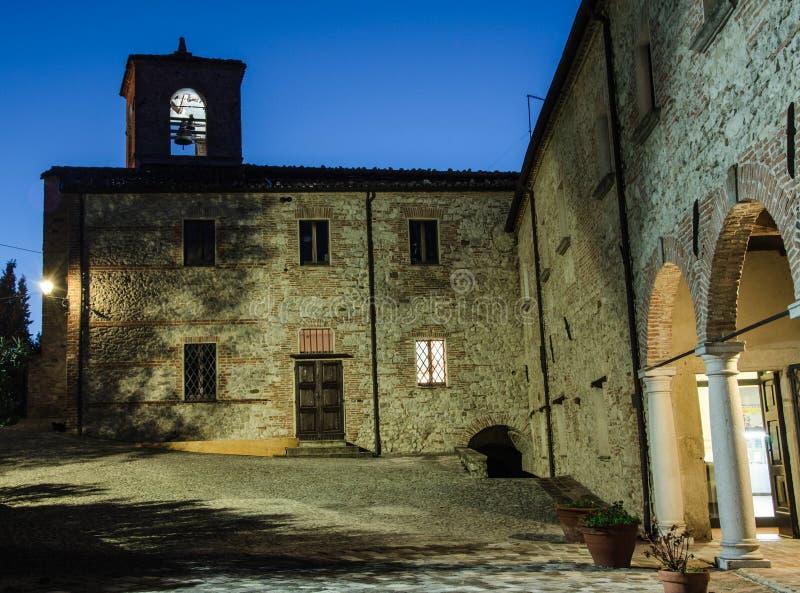 韦鲁基奥(里米尼),意大利博物馆  免版税库存图片