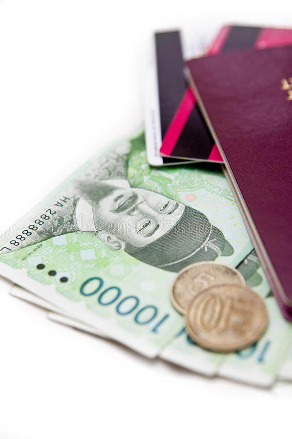 韩国南旅行 库存图片