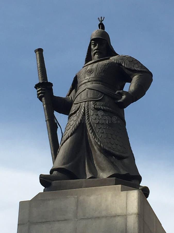 韩国法规战士 免版税库存照片