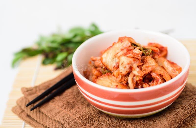 韩国泡菜圆白菜韩国食物,自创 库存照片