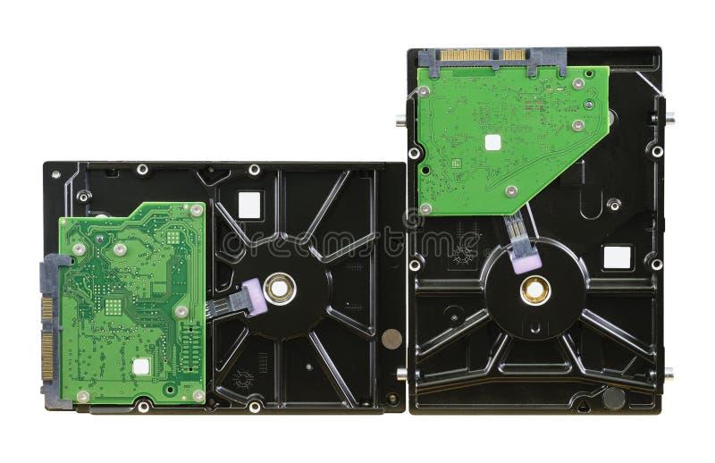 韩国的两Harddrive产品 库存照片