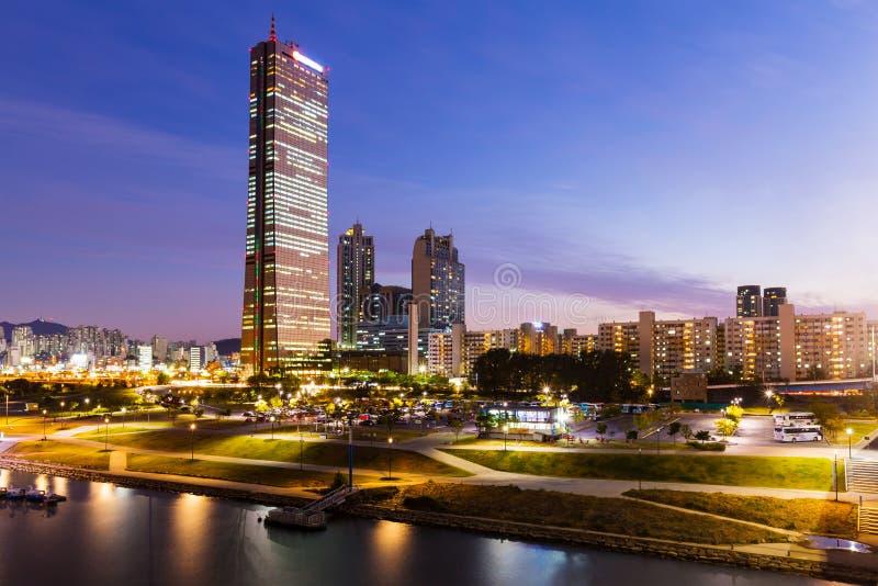 韩国的南部的汉城市 库存照片