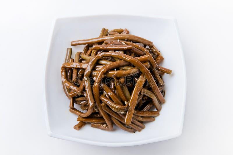 韩国膳食 免版税库存图片