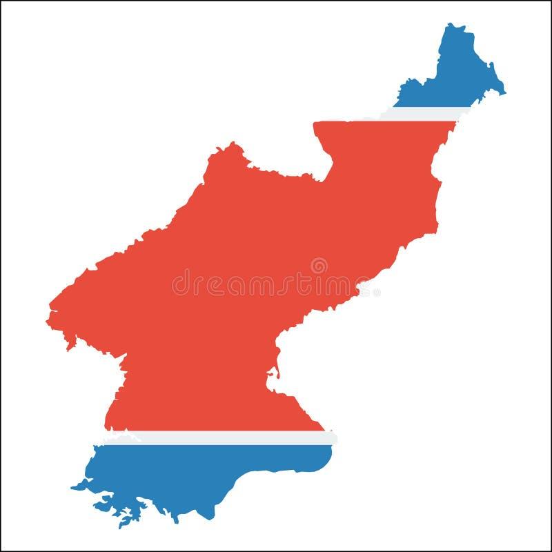 韩国,上流民主党人` s共和国 库存例证