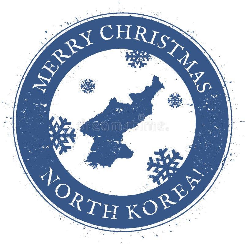 韩国,地图民主党人` s共和国 库存例证