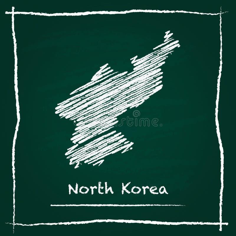 韩国,概述民主党人` s共和国 向量例证
