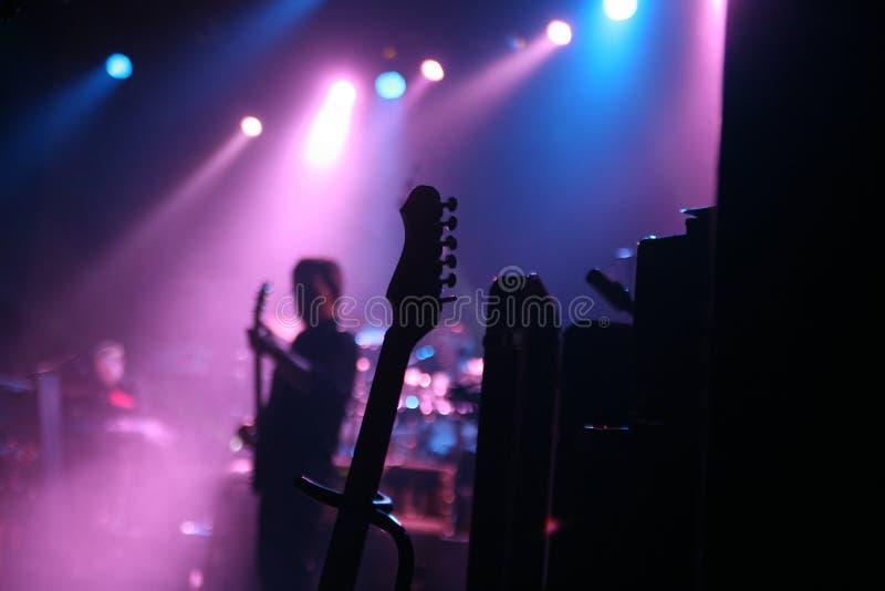 音乐会岩石 库存照片