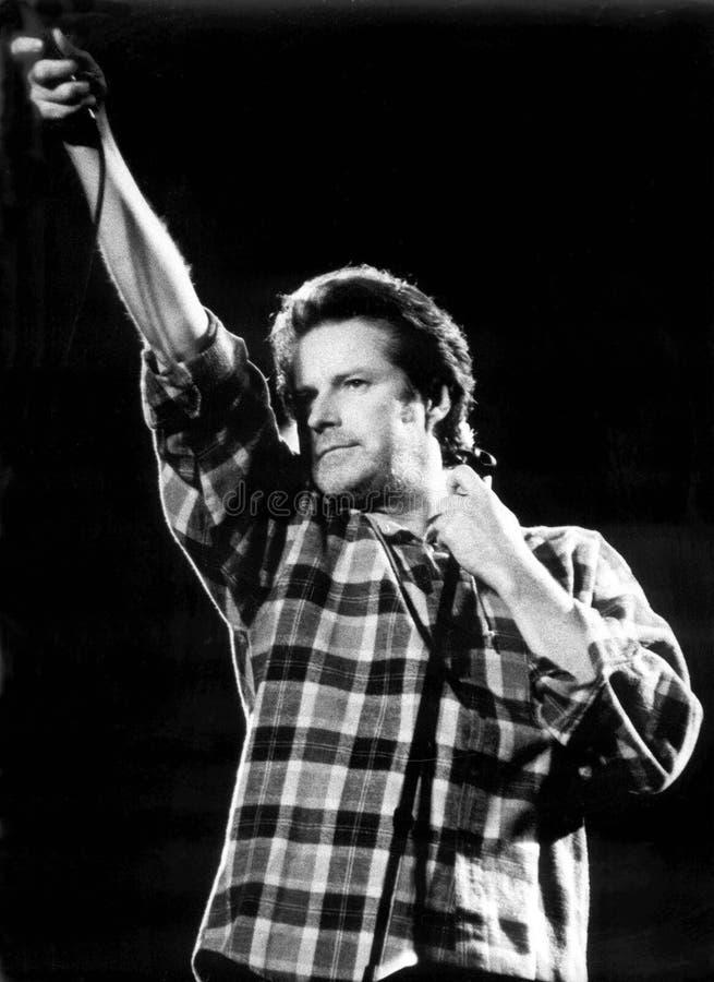 音乐会的唐Henley瓦尔登湖森林的1993年埃里克L 约翰逊摄影 免版税库存图片