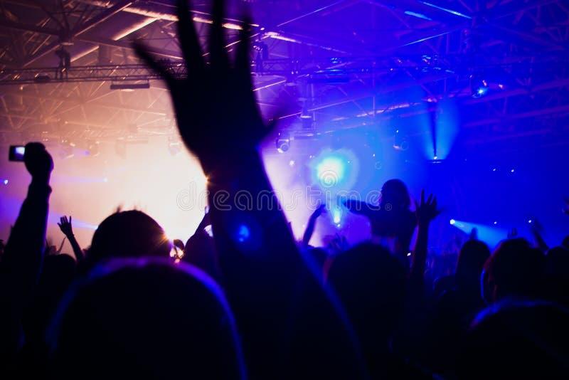 音乐会表现 库存照片