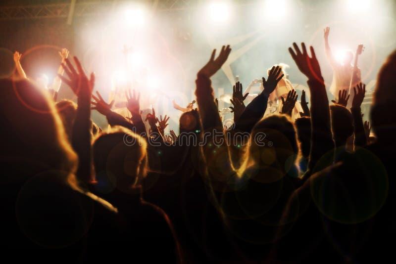 音乐会 免版税库存图片