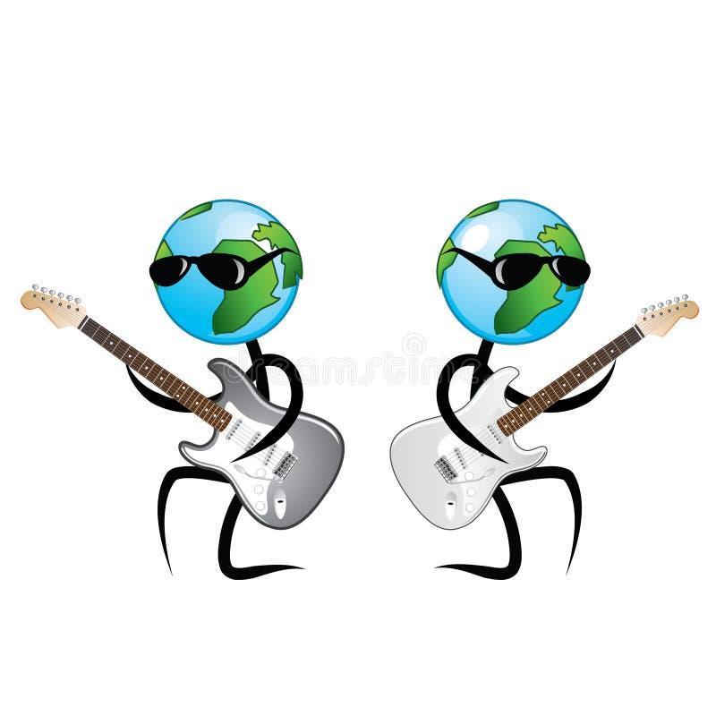 音乐使用 向量例证