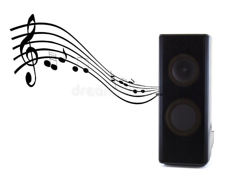 音乐合理的报告人 免版税库存照片