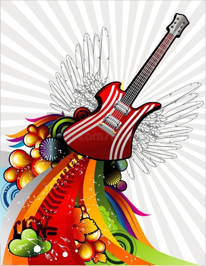音乐向量 皇族释放例证