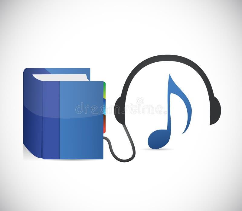 音乐和教育 抽象背景设计例证马赛克 向量例证