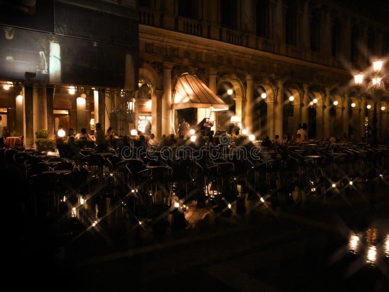 音乐在威尼斯 免版税图库摄影