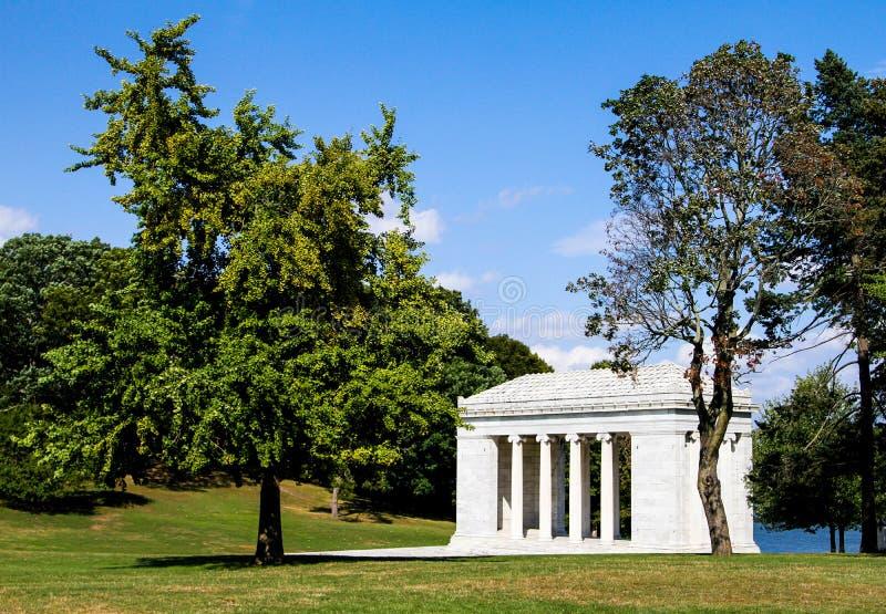 音乐寺庙,罗杰威廉斯公园,上帝, RI 免版税库存照片