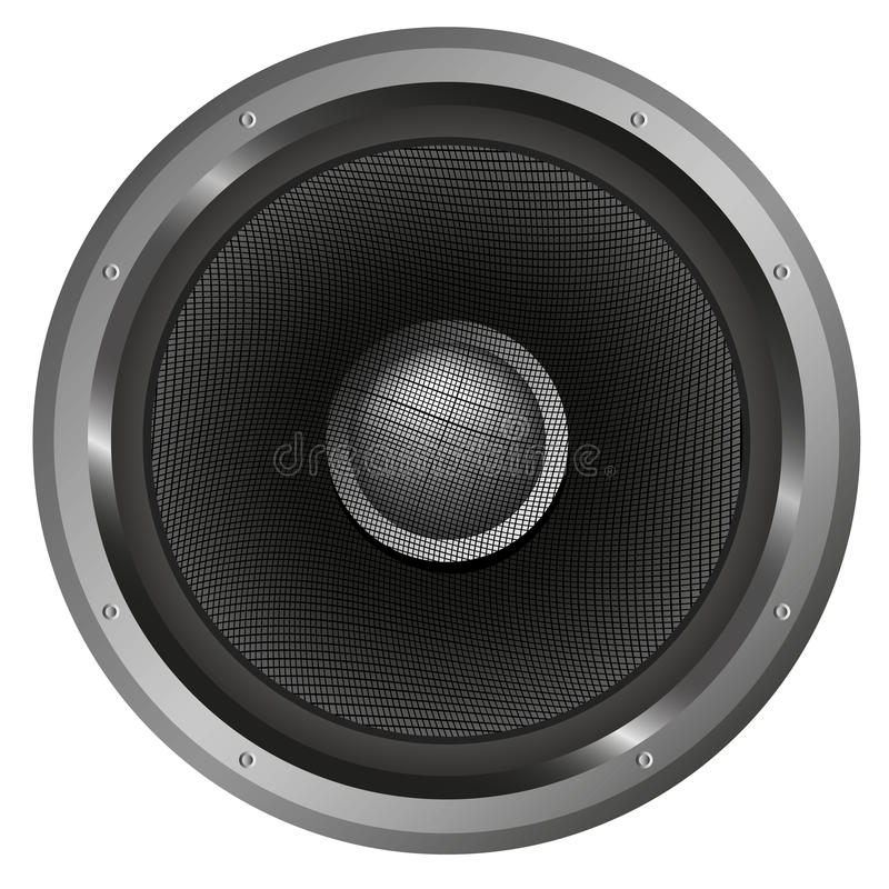 音乐报告人  库存图片
