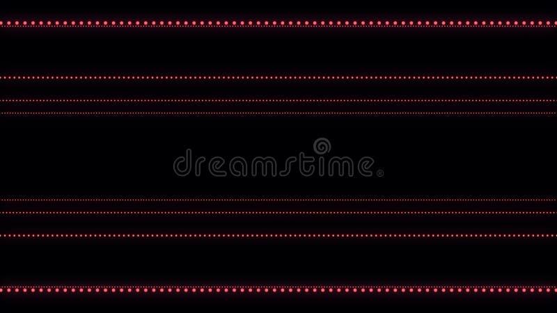 音乐抽象背景 声波走廊 合理的微粒隔行扫描  3d?? 皇族释放例证