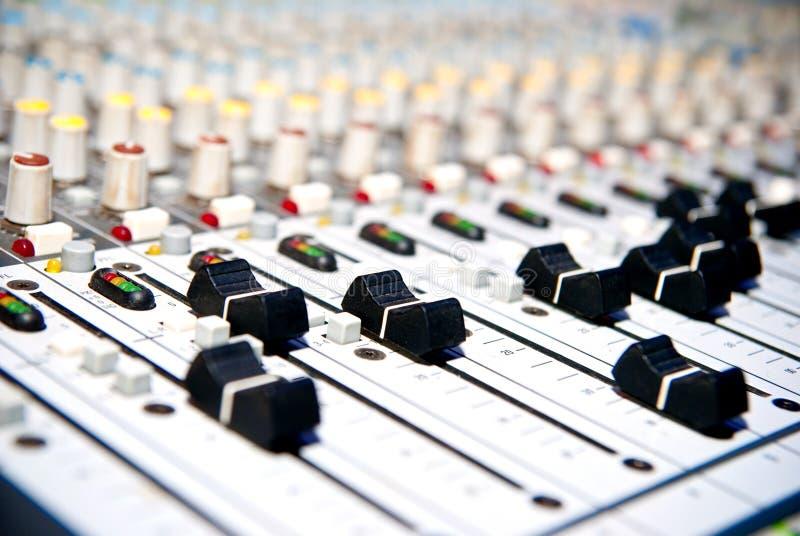 音乐搅拌机 库存图片