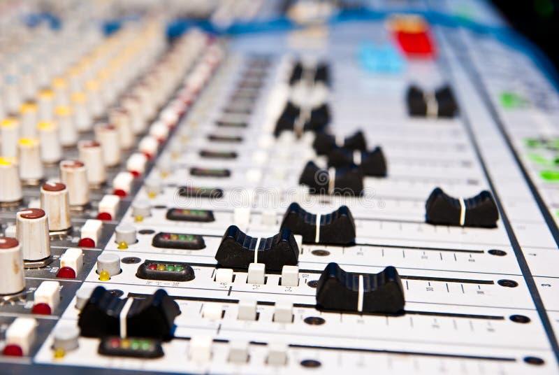 音乐搅拌机 免版税图库摄影