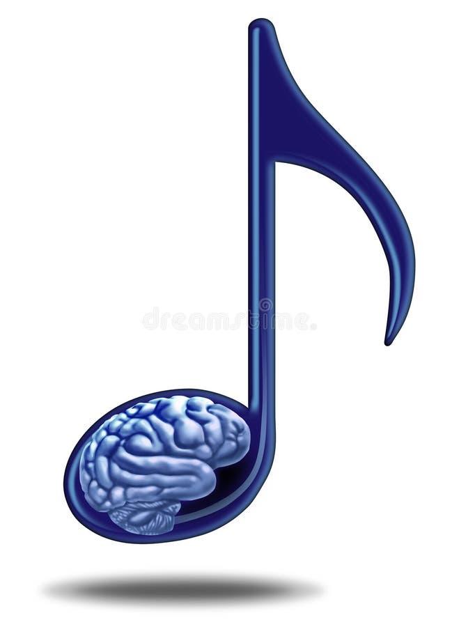 音乐教育和疗法 向量例证