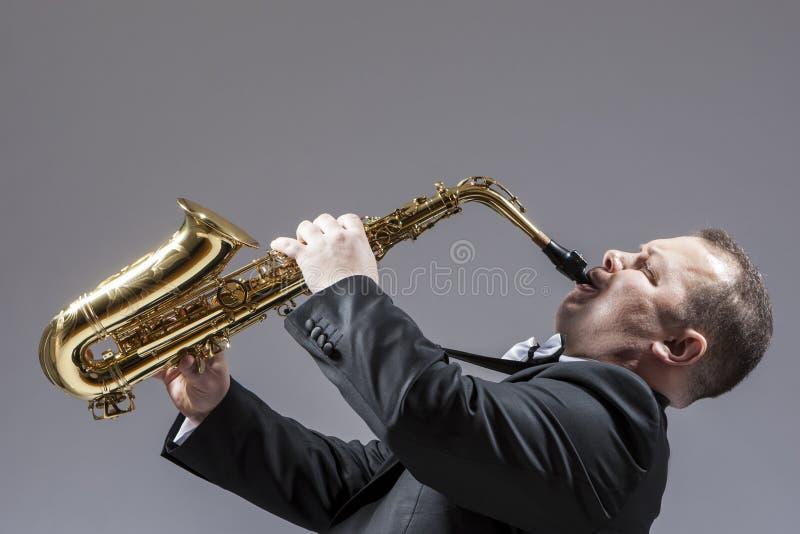 音乐概念 全长画象白种人成熟明确 图库摄影