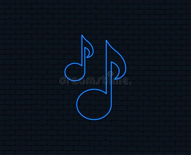 音乐注意标志象 音乐符号 库存例证