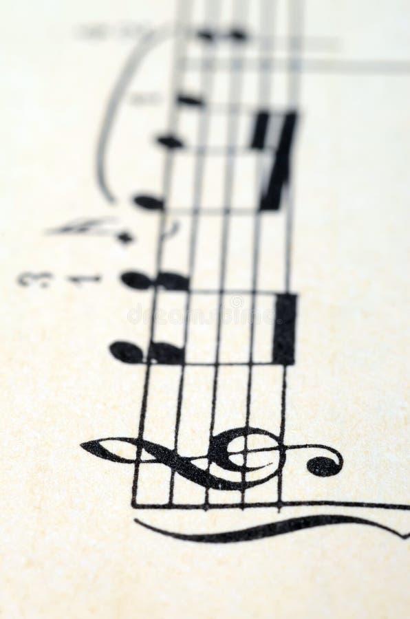 音乐注意比分背景 库存照片