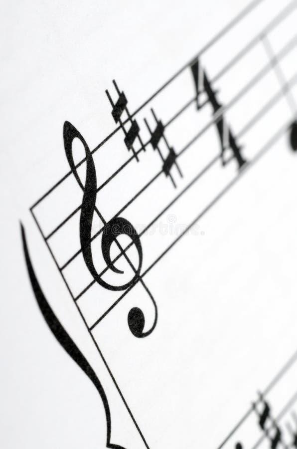 音乐注意比分背景 免版税库存图片