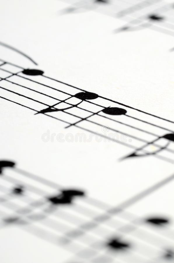 音乐注意比分背景 库存图片