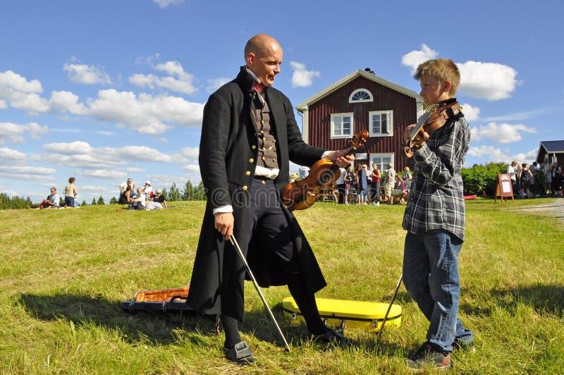 音乐瑞典 免版税库存图片