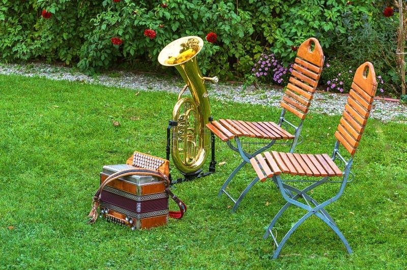 音乐的仪器 图库摄影