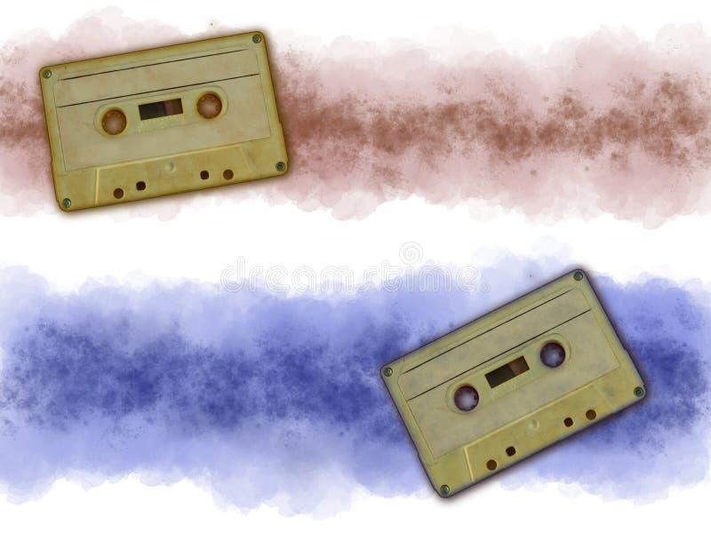 音乐磁带 免版税库存图片
