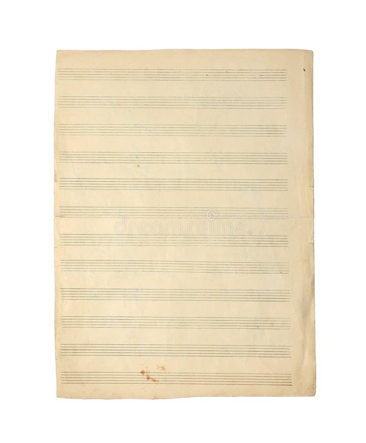 音乐笔记。 免版税库存图片