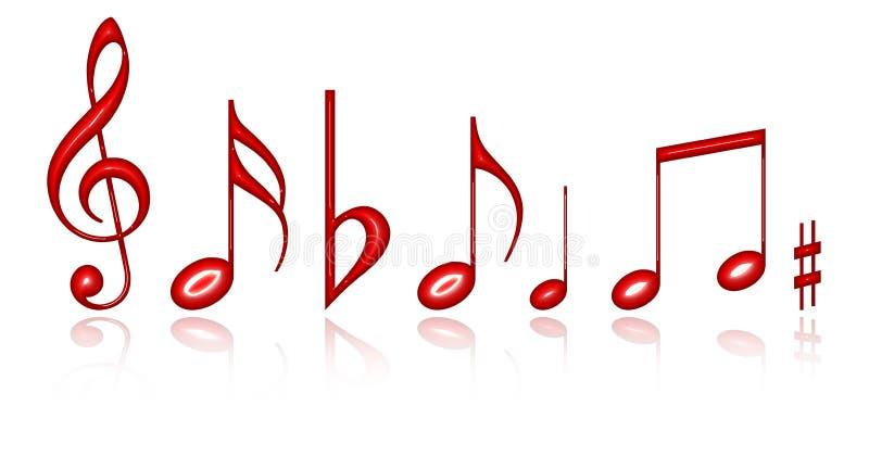 音乐笔记 向量例证