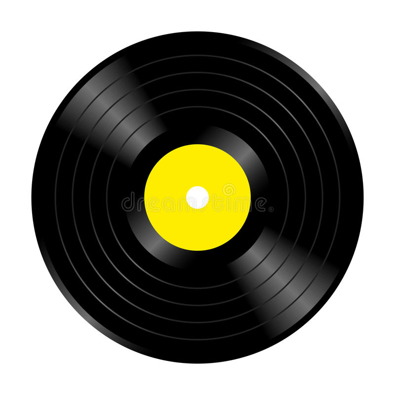 音乐纪录 库存例证