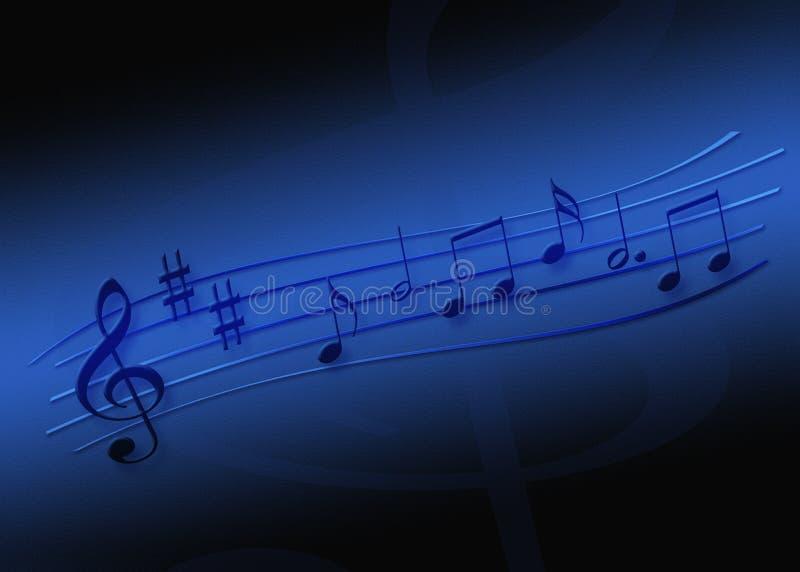 音乐纸张 皇族释放例证