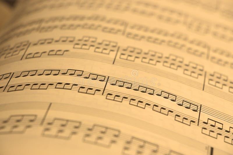 音乐老页 库存照片