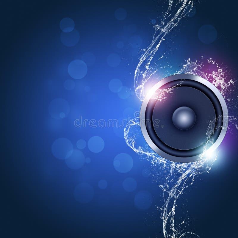 音乐背景 皇族释放例证