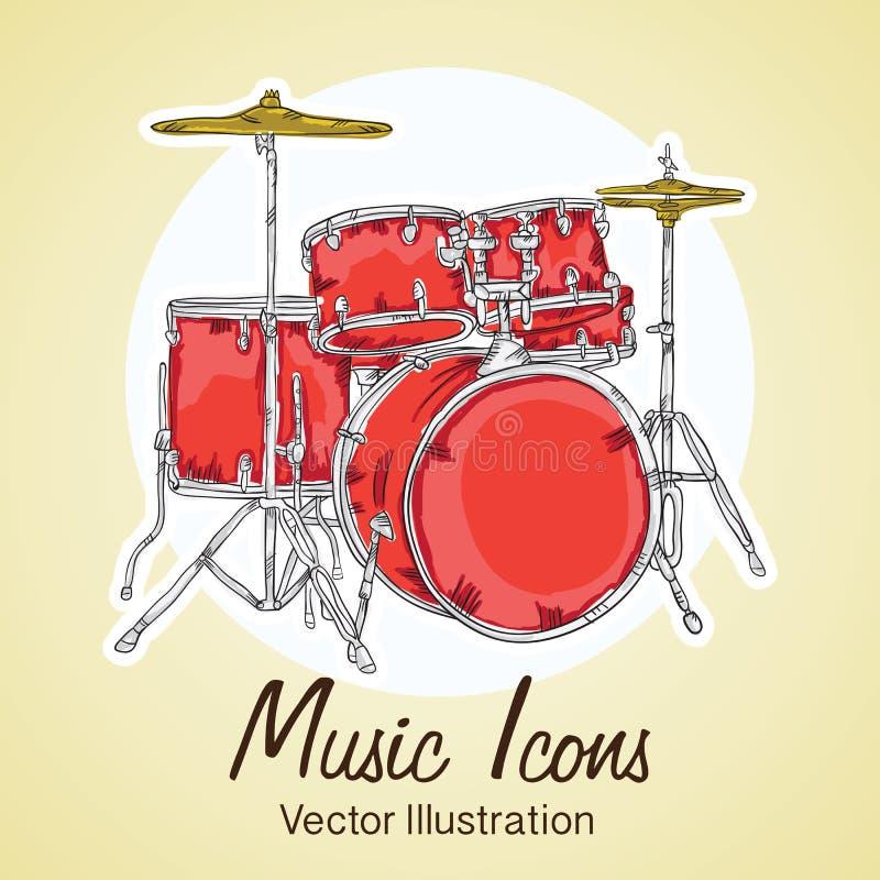 Download 音乐象 向量例证. 插画 包括有 性能, 向量, 附注, 音乐会, 音乐, 仪器, 阶段, 曲调, 音乐家 - 30331475