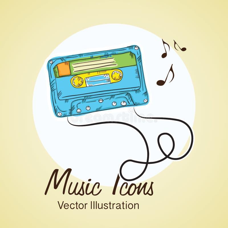 Download 音乐象 向量例证. 插画 包括有 人们, 作用, 附注, 设计, 茄子, 迪斯科, 音乐, 阶段, 音乐会 - 30331539