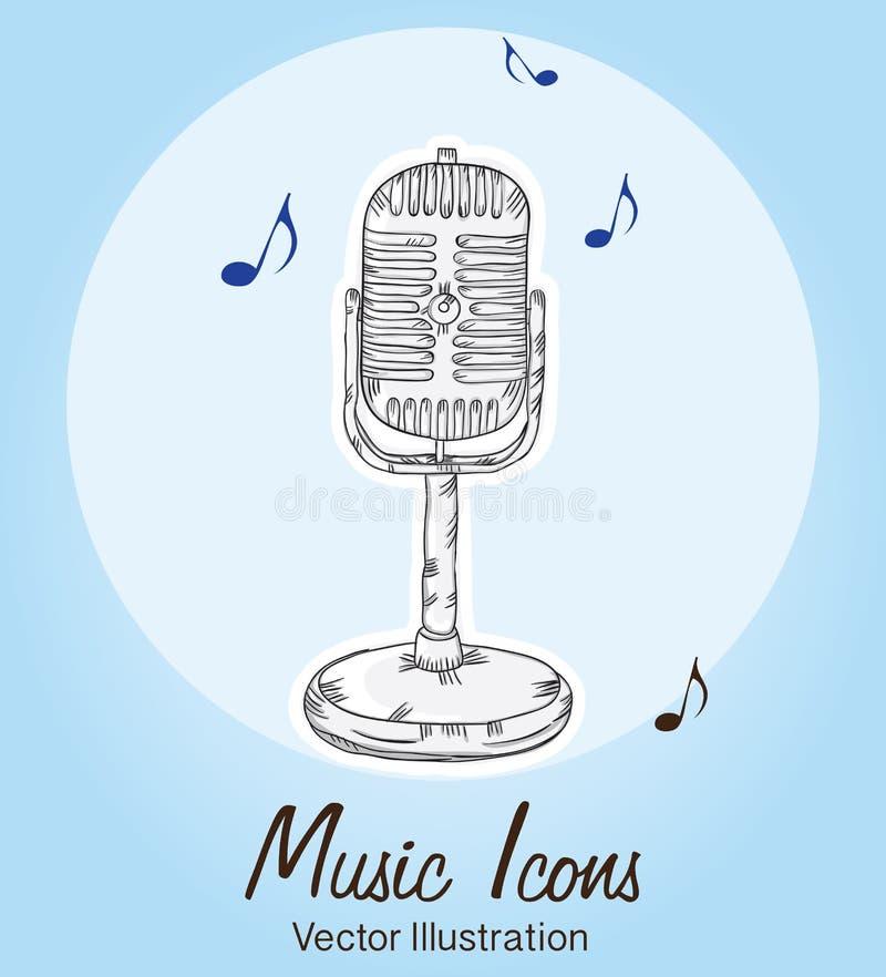 Download 音乐象 向量例证. 插画 包括有 向量, bambi, 图标, 仪器, 音乐家, 设计, 曲调, 迪斯科 - 30331552
