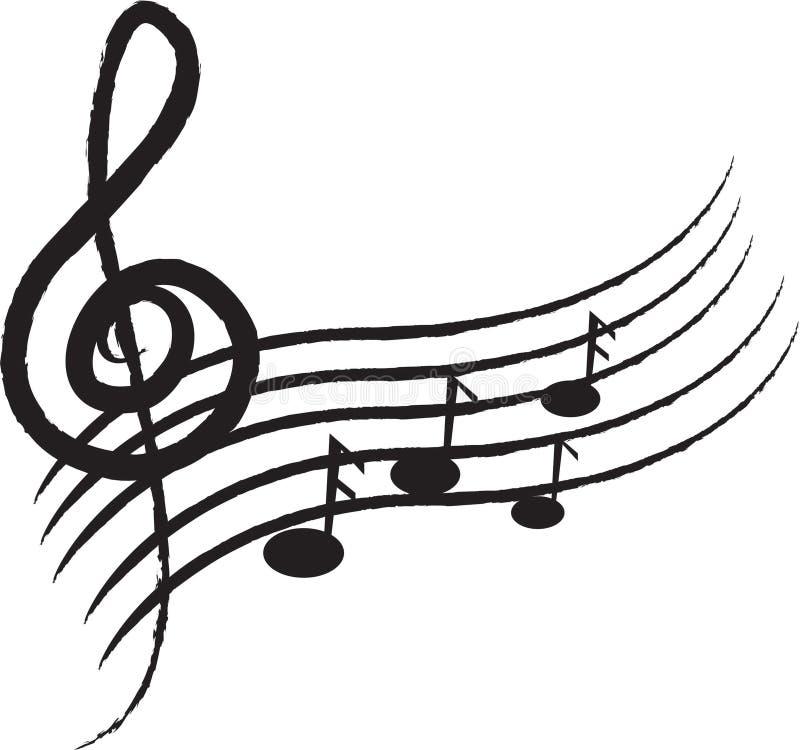 音乐 皇族释放例证