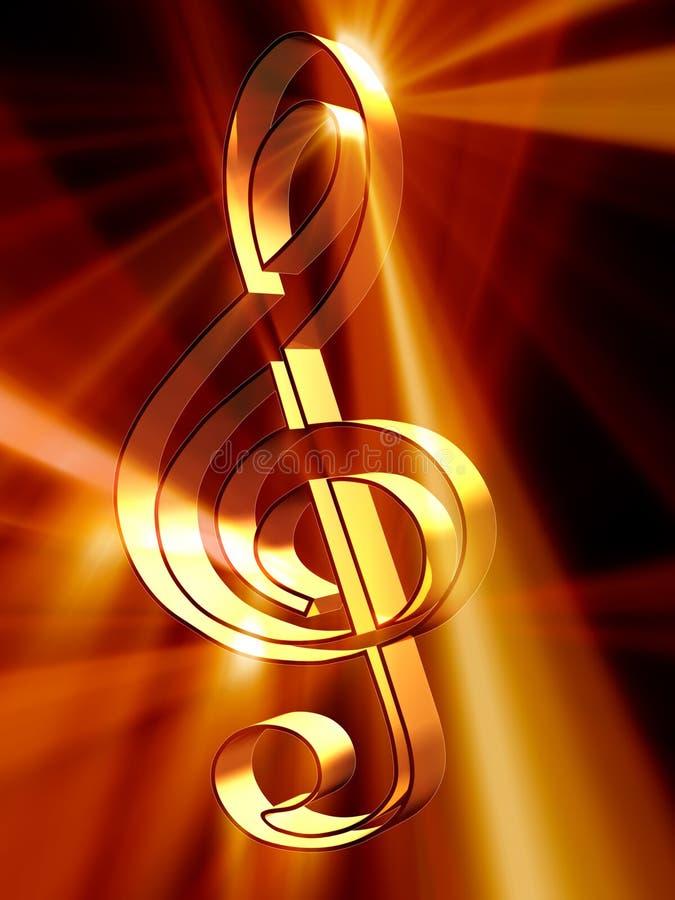 音乐 库存例证