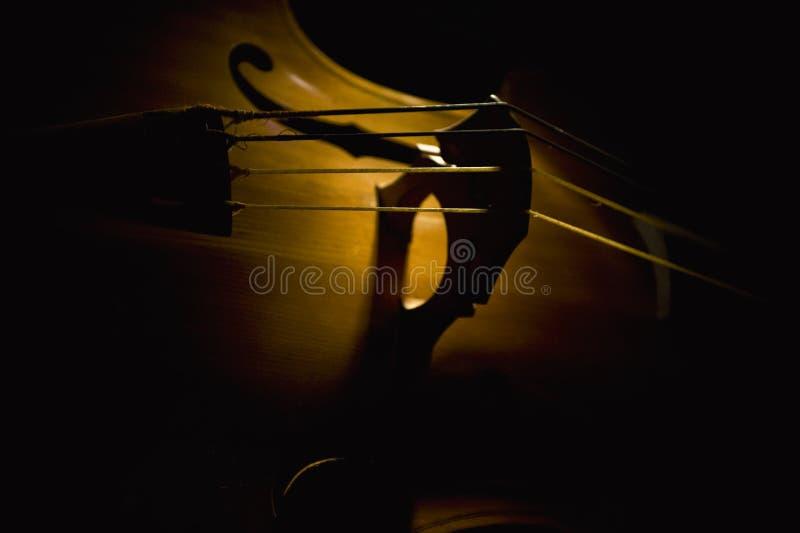 音响低音吉它 库存照片