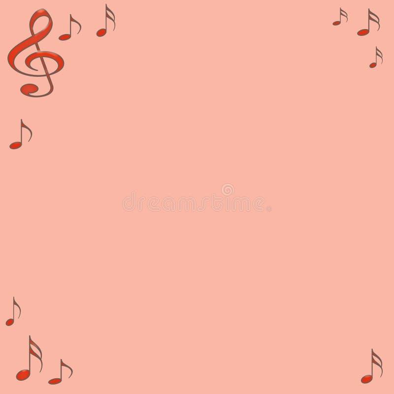 音符 向量例证