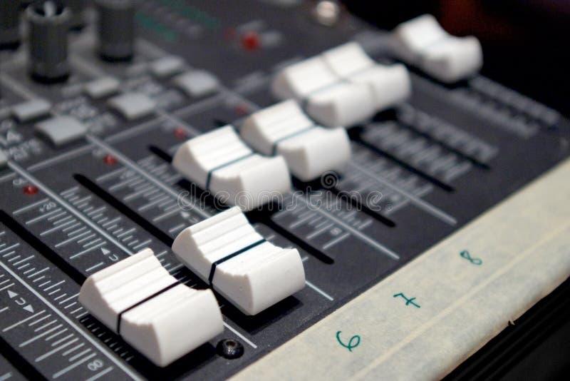 音量控制器 库存照片
